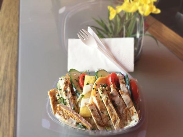 Salade à l'emporter